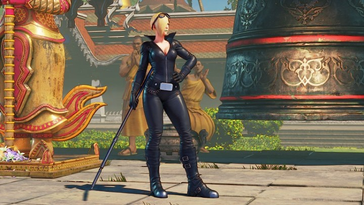 Primer gameplay de Falke, el nuevo personaje de Street Fighter V