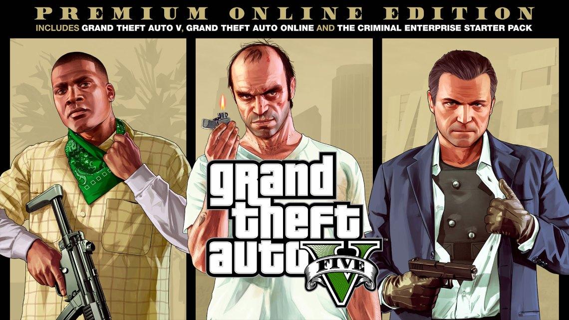 Anunciado y ya disponible Grand Theft Auto V: Premium Online Edition para PS4, Xbox One y PC