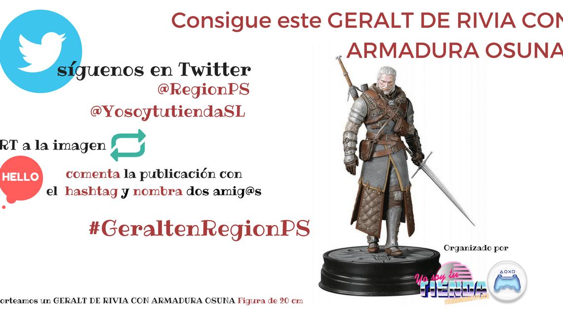 ¡Sorteamos una espectacular figura de Geralt de Rivia con armadura Osuna!