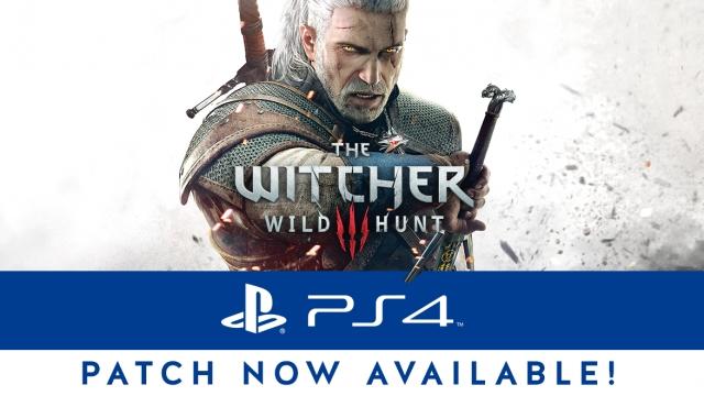 The Witcher 3: Wild Hunt se actualiza en PS4 y PS4 Pro añadiendo soporte HDR