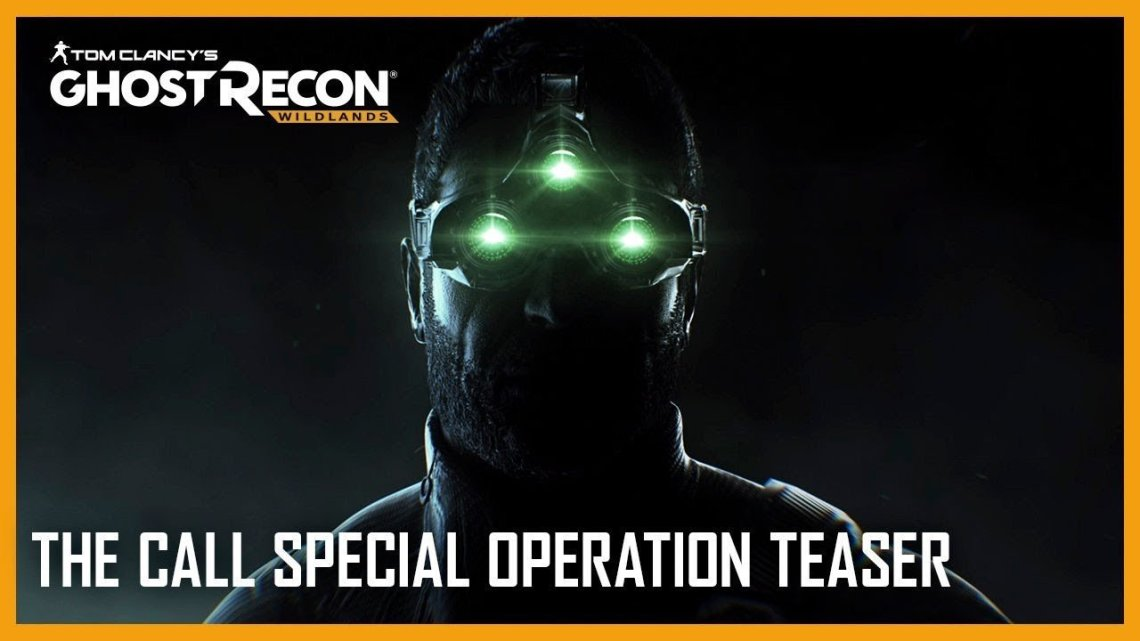 Sam Fisher aparece en el nuevo teaser de Ghost Recon Wildlands