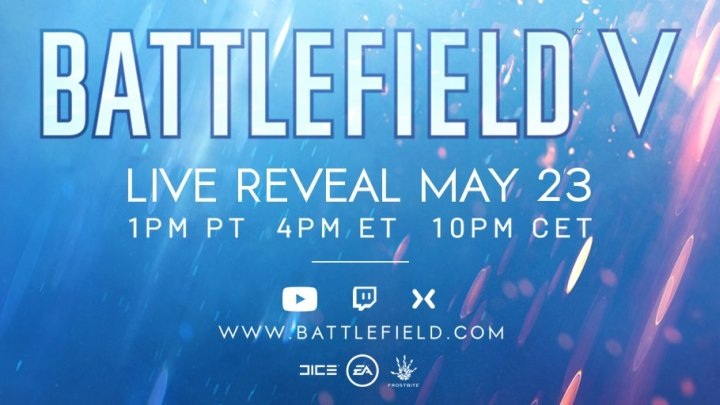 Battlefield V se presentará oficialmente el próximo 23 de mayo