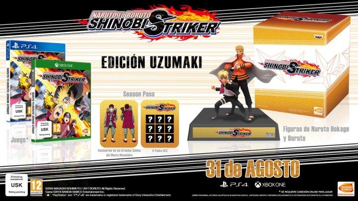 Naruto to Boruto: Shinobi Striker llegará a Europa el próximo 31 de agosto | Presenta la espectacular Edición Uzumaki