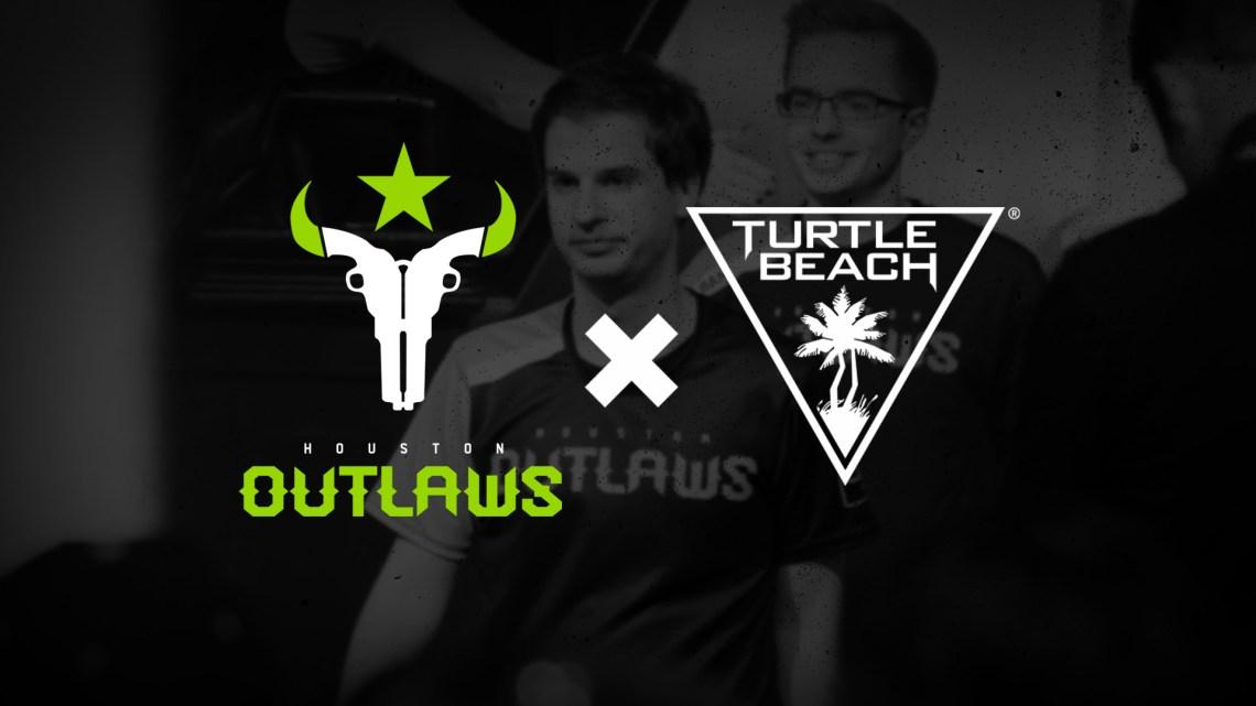Turtle Beach anuncia su asociación con el equipo de eSports Houston Outlaws