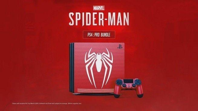 Filtrada la nueva PlayStation 4 Pro con el diseño oficial del nuevo videojuego de Spider-Man