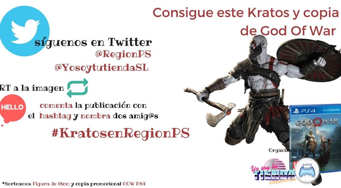 ¡Sorteamos una copia de God of War y una espectacular figura de Kratos!