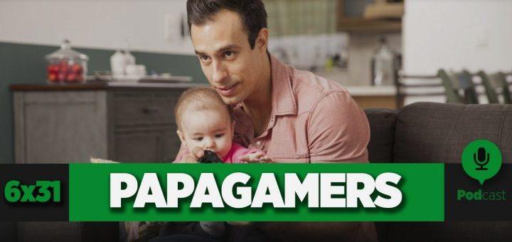 Podcast GameLX | 6×31 – Cómo ser un papá gamer y no morir en el intento