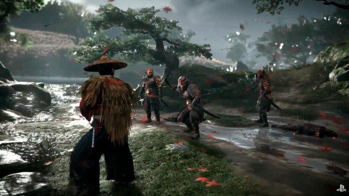 E3 2018 | Ghost of Tsushima deslumbra con su primer y sangriento gameplay
