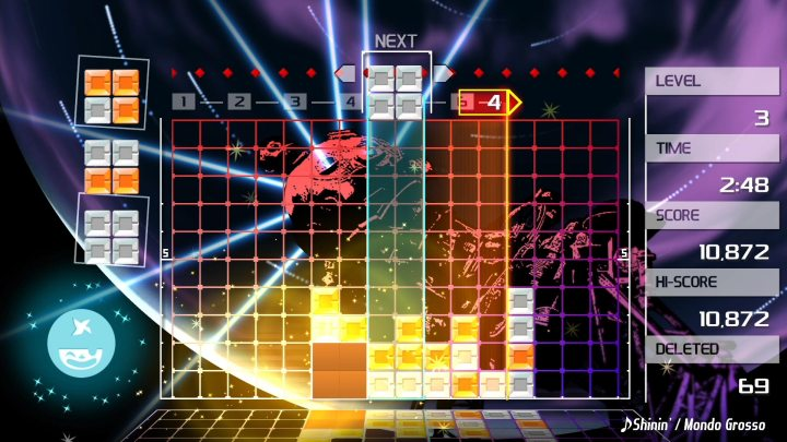 Lumines Remastered ya disponible en PlayStation 4 | Nuevo tráiler