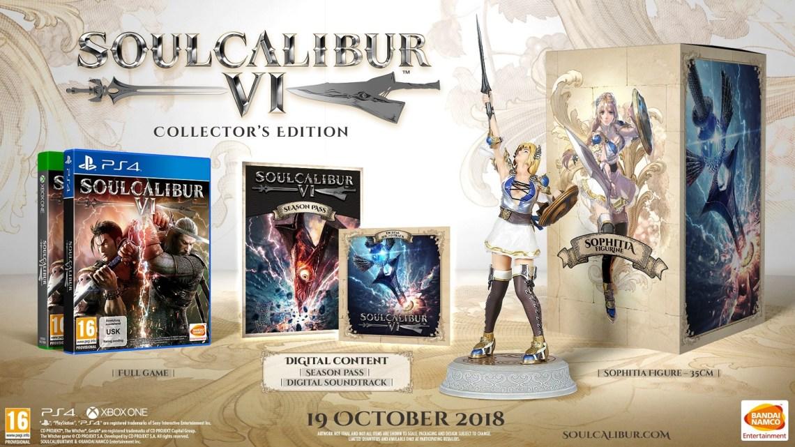 E3 2018 | Bandai Namco anuncia las ediciones coleccionista de SoulCalibur VI para América y Europa