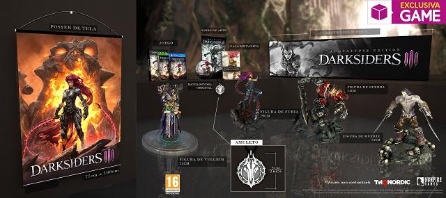 Presentados los contenidos de la exclusiva Apocalypse Edition de Darksiders III