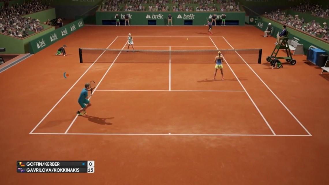 AO International Tennis | Nueva actualización masiva con el parche 1.35
