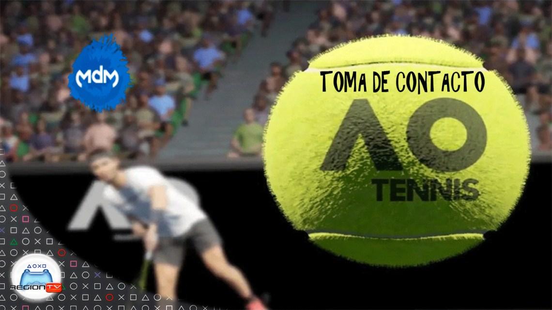 RegiónTV | Toma de contacto: AO International Tennis