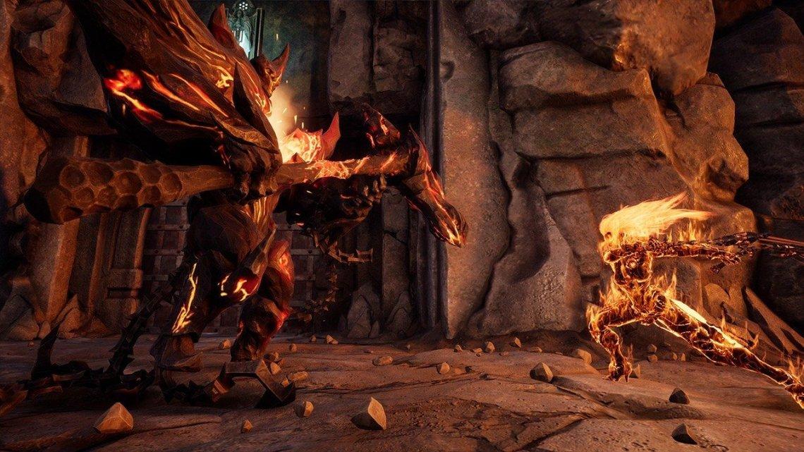 DarkSiders III nos muestra la forma Flame Fury de Furia en un gameplay de 6 minutos