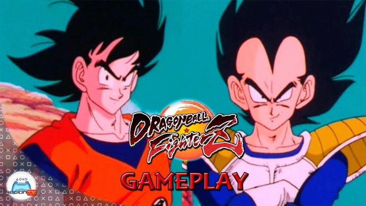 RegiónTV | Gameplay: Dragon Ball FighterZ : Goku y Vegeta base