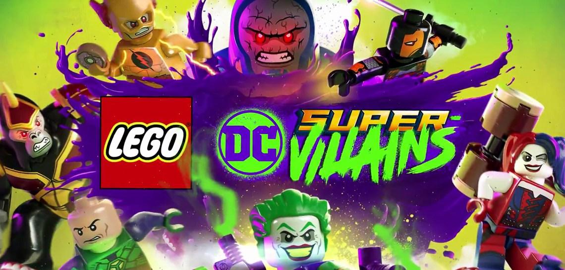 Ya disponible el tráiler de la historia de LEGO DC Súper-Villanos