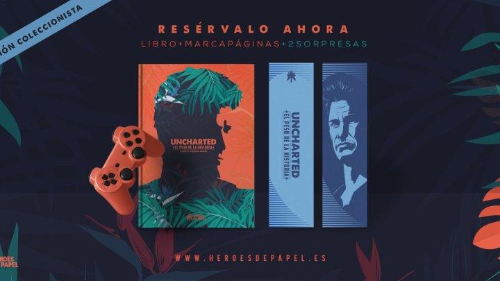 "Héroes de Papel anuncia ""Uncharted: El peso de la historia"""