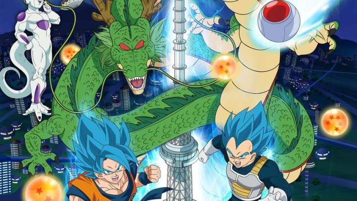 Dragon Ball Super: Broly estrena un nuevo y espectacular poster