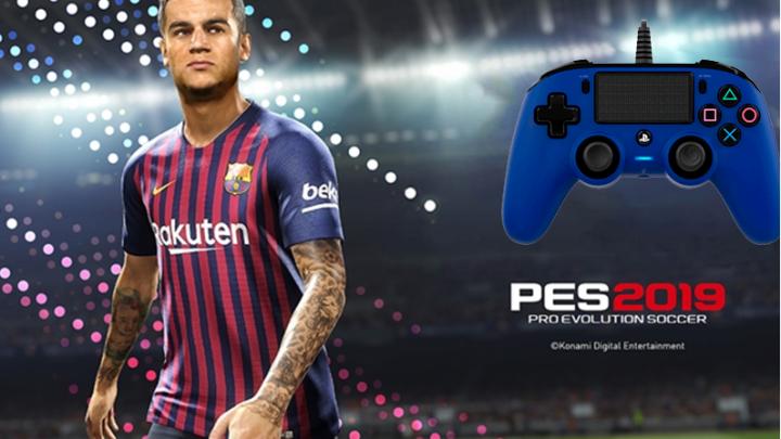¡Ganador Concurso PES 2019 + Nacon PS4 Controller!