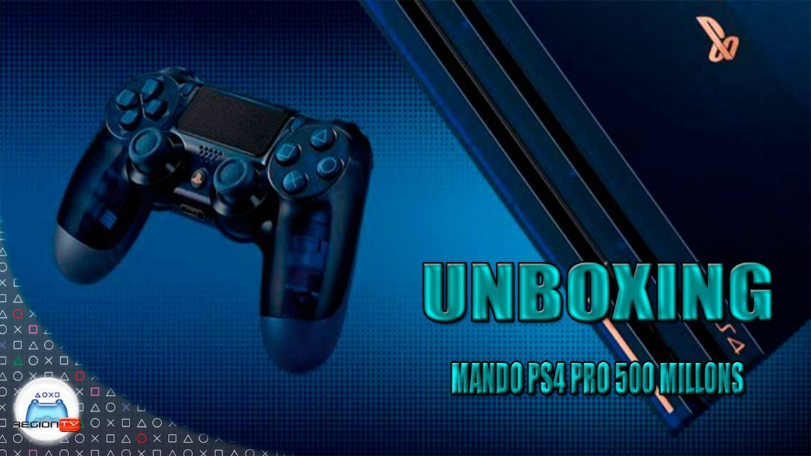 RegiónTV | Unboxing : Dualshock 4 500 Million Limited Edition