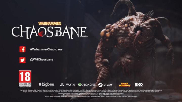 Warhammer: Chaosbane muestra su jugabilidad en su primer gameplay