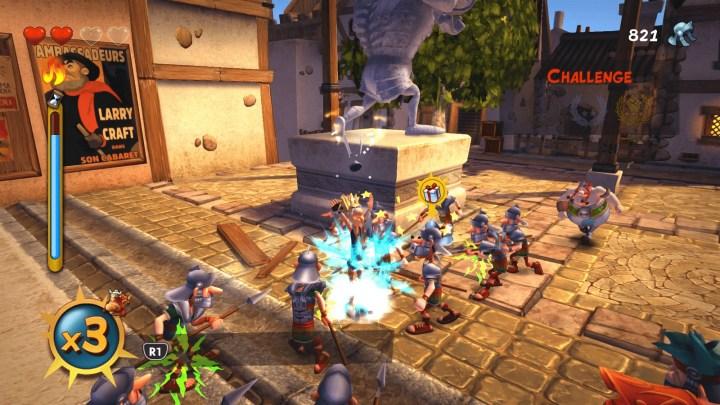Asterix & Obelix XXL 2 muestra su divertida jugabilidad en un nuevo gameplay