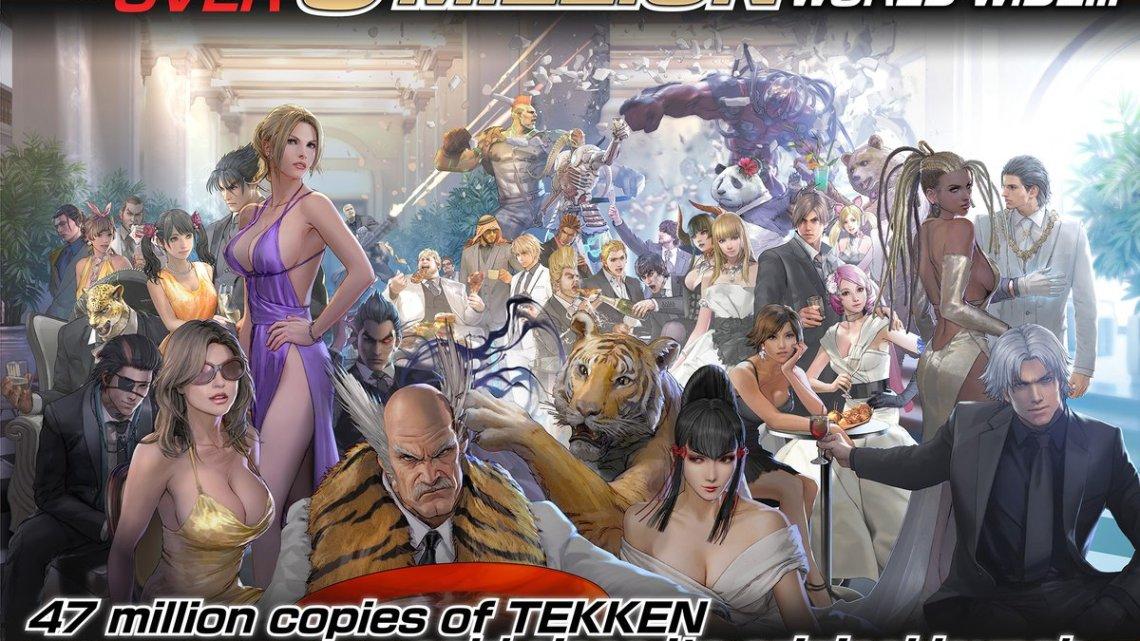 Tekken 7 supera los 3 millones de copias vendidas en todo el mundo