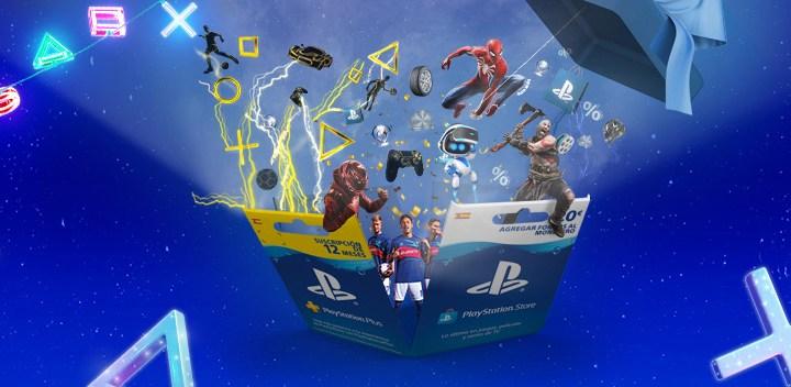 Descubre las Tarjetas Regalo de PlayStation, idóneas para estas Navidades