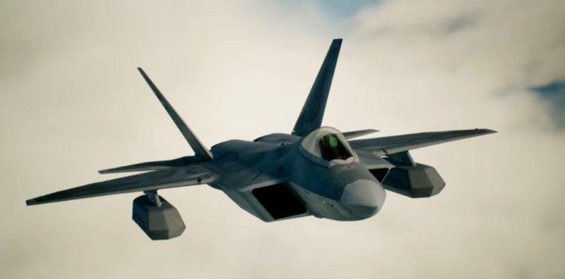 El F-22A Raptor protagoniza el nuevo tráiler de Ace Combat 7: Skies Unknown