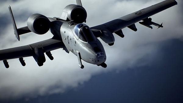 'A-10C' protagoniza el nuevo tráiler de Ace Combat 7: Skies Unknown