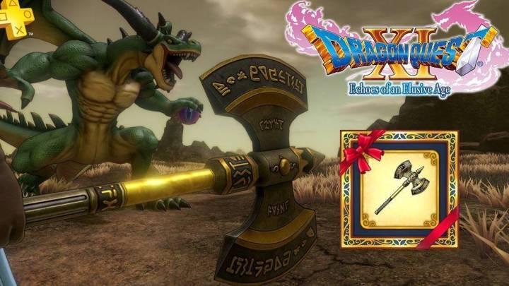 Dragon Quest XI ofrece el Hacha de Kaiser a los usuarios de Playstation Plus
