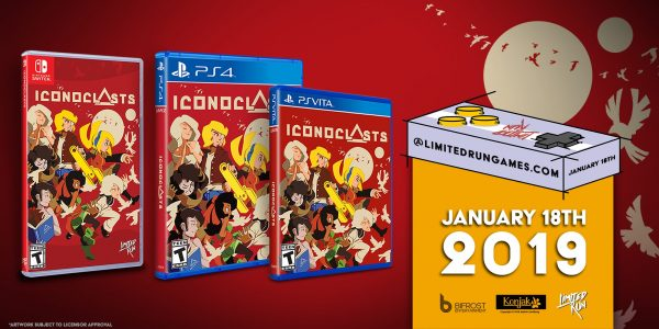 Iconoclasts recibirá una edición física en PS4, Switch y PS Vita