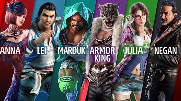 Tekken 7 | Primer gameplay de Negan, antagonista de la serie The Walking Dead