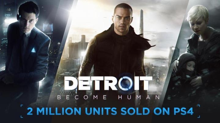Detroit: Become Human supera las dos millones de copias vendidas desde su lanzamiento