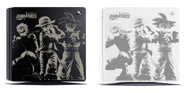 Así luce la PlayStation 4 personalizada con diseño de Jump Force