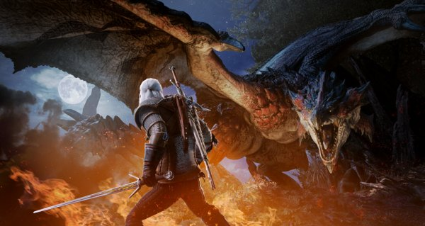 La colaboración especial de Monster Hunter: World y The Witcher 3: Wild Hunt llegará el 8 de febrero