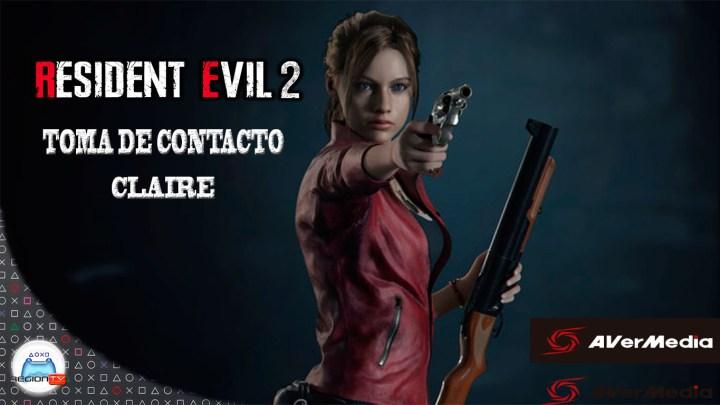RegiónTV   Toma de contacto   Resident Evil 2 Remake   Claire