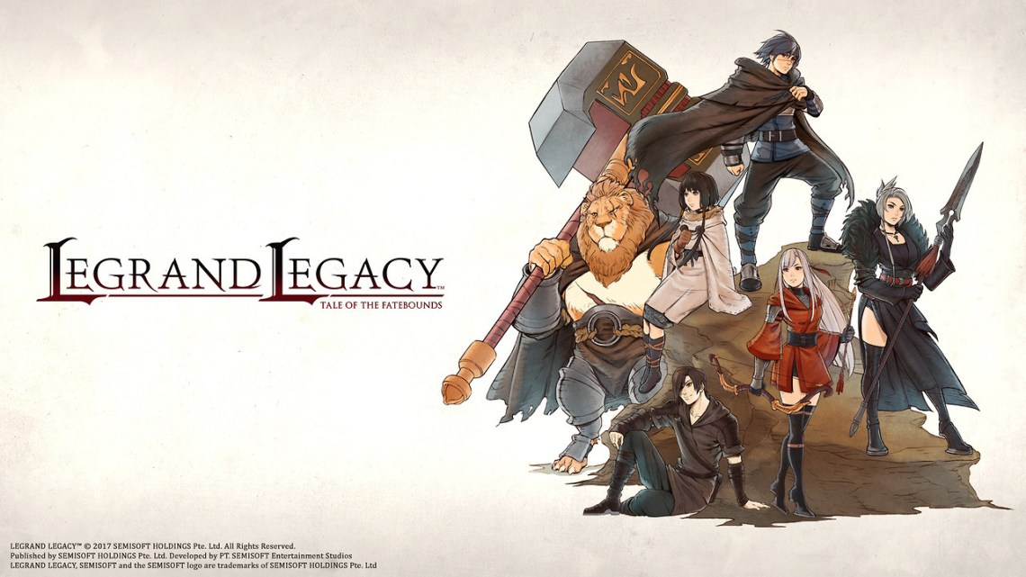 Legrand Legacy: Tale of the Fatebounds llegará a PlayStation 4 tras su lanzamiento para Switch