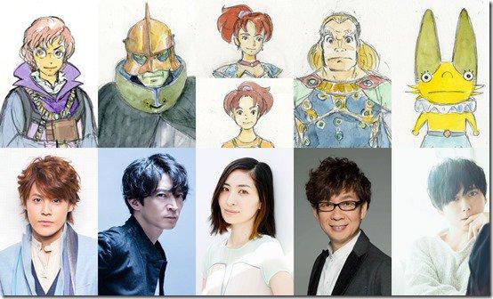 Revelados los actores que darán vida a los personajes del film inspirado en Ni No Kuni