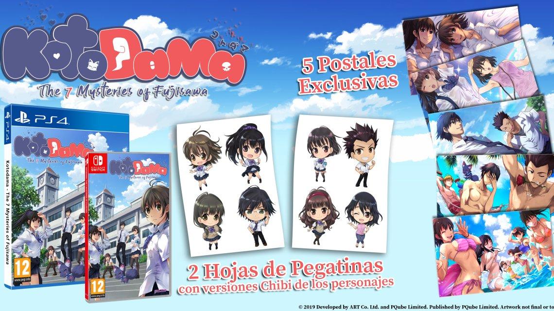 Kotodama: The 7 Mysteries of Fujisawa llega a PS4 y Switch el 31 de mayo