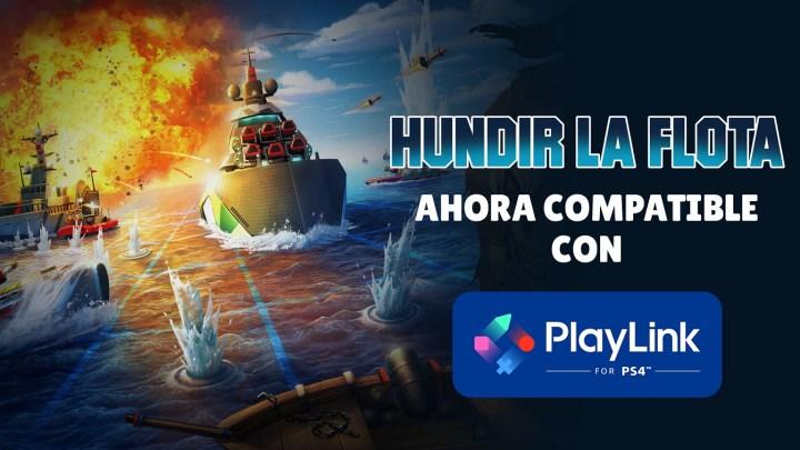 El juego 'Hundir la flota' se actualiza y ya es compatible con PlayLink para PS4