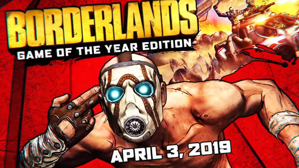 Borderlands: Game of the Year Edition llegará a PS4, Xbox One y PC el próximo 3 de abril