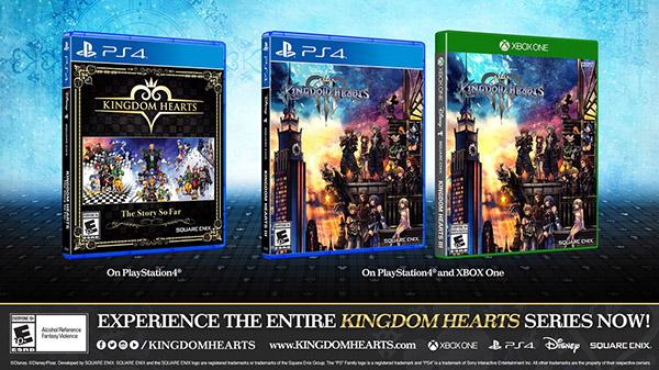 Kingdom Hearts: The Story So Far llegará a Europa el próximo 29 de marzo