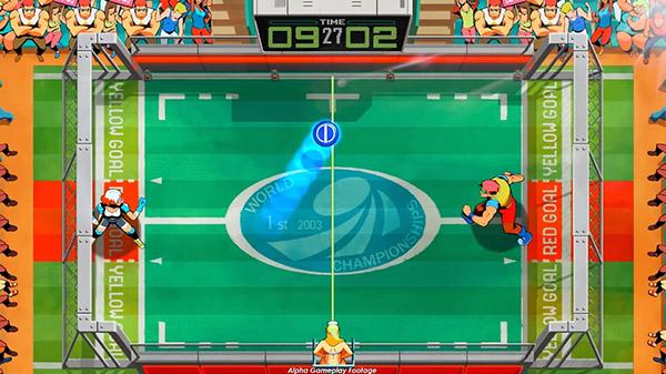 Presentado el primer gameplay de Windjammers 2