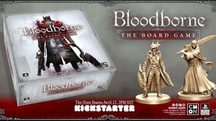 El juego de mesa de Bloodborne arranca su campaña de Kickstarter a finales de este mes