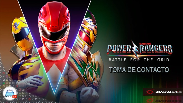 RegiónTV | Toma de contacto | Power Rangers: Battle for the Grid