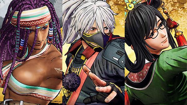 Samurai Shodown nos revela tres nuevos luchadores