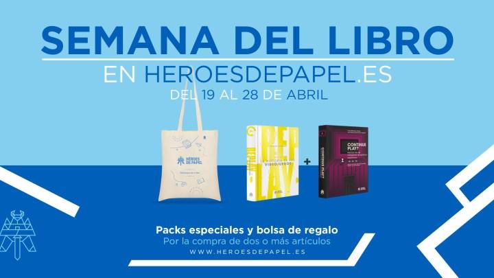 Conoce las ofertas de Héroes de Papel en la Semana del Libro