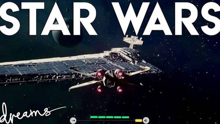 Star Wars ya tiene su propio nivel en Dreams