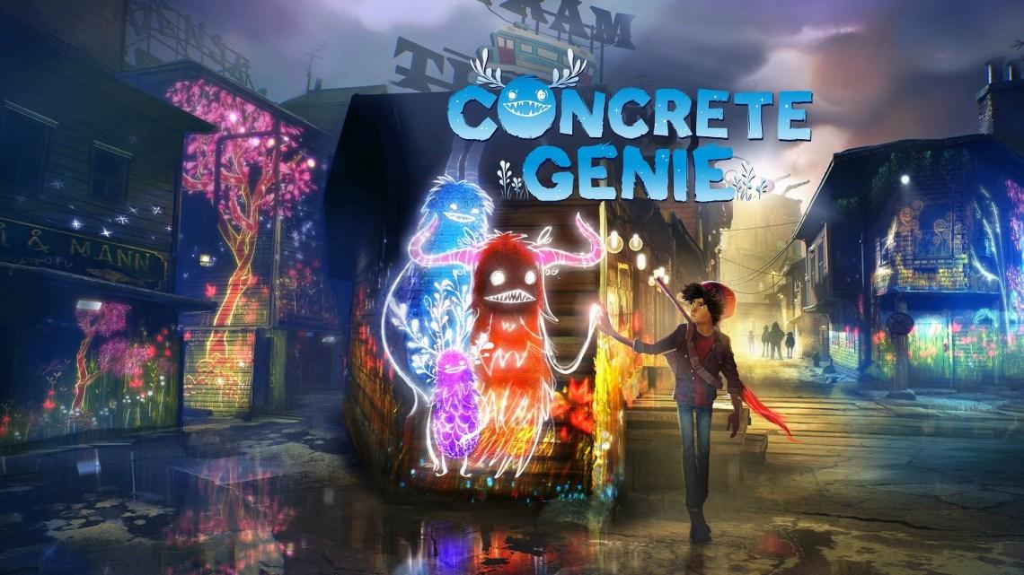El exclusivo y mágico Concrete Genie se muestra en un extenso gameplay